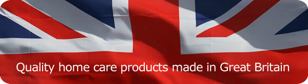 Superior home care products, made in England